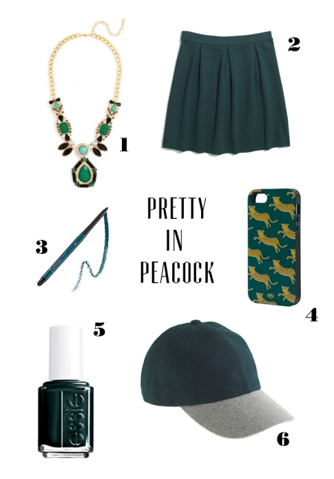 Loving Now: Pretty in Peacock