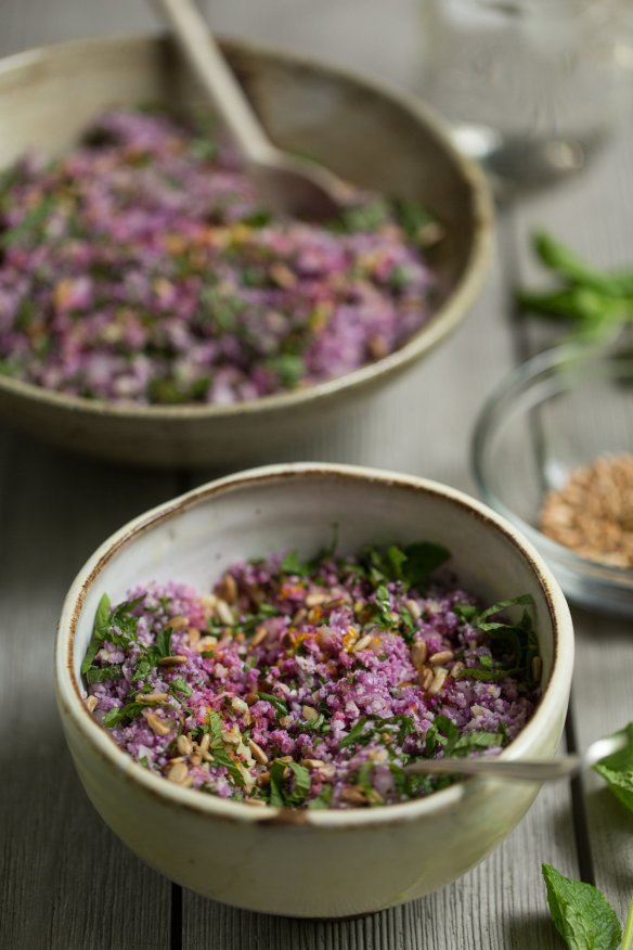 Purple+Cauliflower+Tabbouleh+Recipe+by+CTEatsOut.com